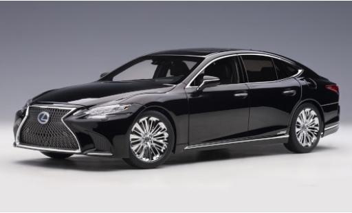 Lexus LS 1/18 AUTOart 500h noire 2018 miniature