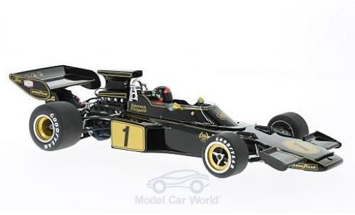 Lotus 72 1/18 AUTOart E No.1 Formel 1 1973 mit Fahrerfigur E.Fittipaldi modellautos