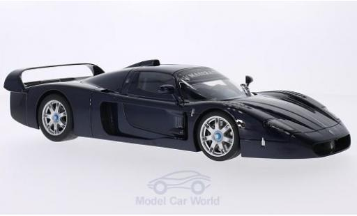 Maserati MC12 1/18 AUTOart metallic-bleue 2004 miniature