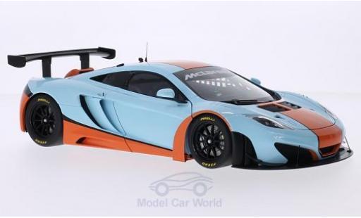McLaren MP4-12C 1/18 AUTOart 12C GT3 Gulf 2012 miniature