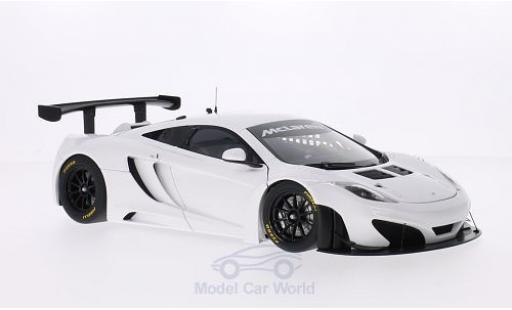 McLaren MP4-12C 1/18 AUTOart 12C GT3 white 2011 diecast model cars