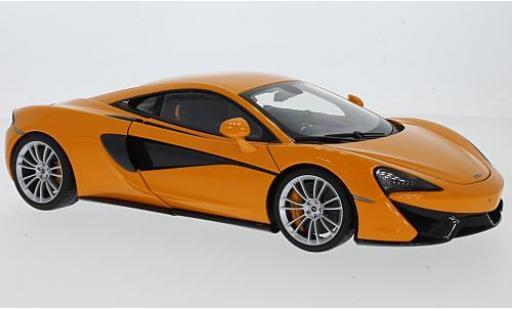 McLaren 570 1/18 AUTOart S naranja 2016 avec grisnen Rädern coche miniatura