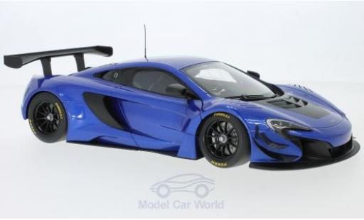 McLaren 650 1/18 AUTOart S GT3 bleue/noire 2014 miniature