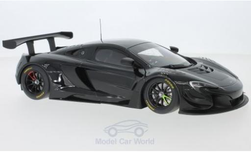 McLaren 650 1/18 AUTOart S GT3 noire 2014 miniature