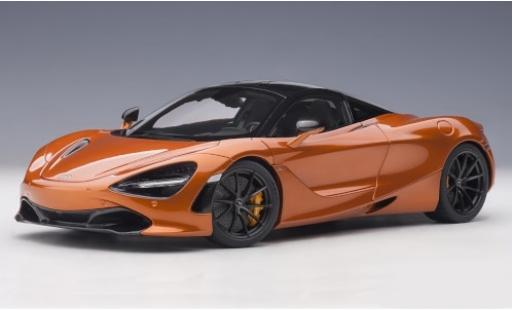 McLaren 720 1/18 AUTOart S metallise orange 2017 modellino in miniatura