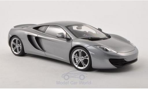 McLaren MP4-12C 1/18 AUTOart grey 2011 diecast