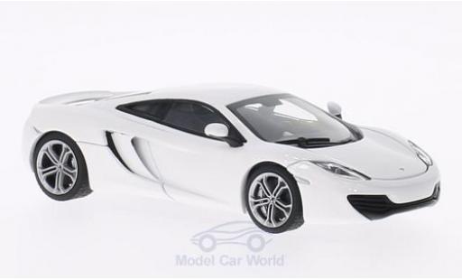 McLaren MP4-12C 1/43 AUTOart blanche 2011 miniature