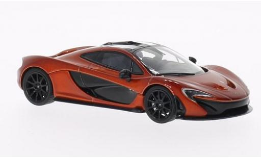 McLaren P1 1/43 AUTOart metallise orange 2011 modellino in miniatura