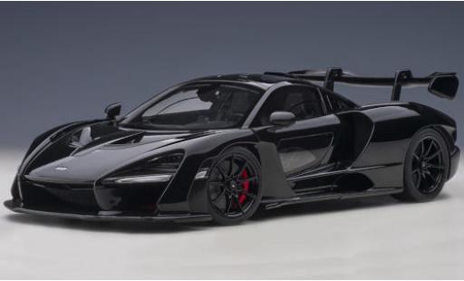 McLaren Senna 1/18 AUTOart black/carbon 2018 diecast model cars
