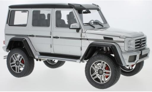 Mercedes Classe G 1/18 AUTOart G500 4x4 grey 2016 diecast model cars