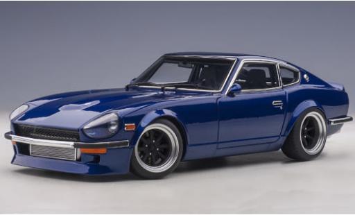 Nissan Fairlady Z 1/18 AUTOart (S30) Wangan Midnight metallise bleue RHD Akuma no Z (30th Anniversary) miniature
