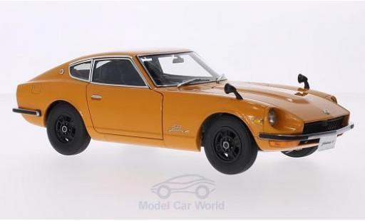 Nissan Fairlady Z 1/18 AUTOart 432 (PS30) orange RHD miniature