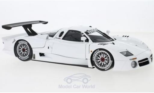 Nissan R390 1/18 AUTOart GT1 Le Mans white RHD 1998 diecast model cars
