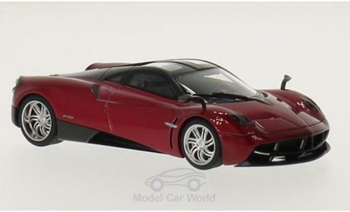 Pagani Huayra 1/43 AUTOart metallise rouge/noire 2011 miniature