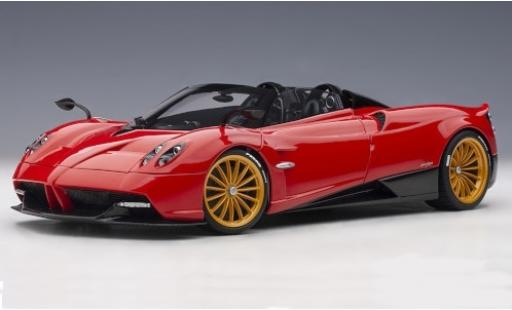 Pagani Huayra 1/18 AUTOart Roadster red/carbon 2017 y compris les Hardtop diecast model cars