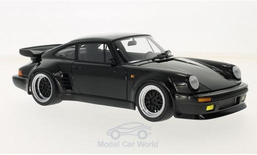 Porsche 911 1/18 AUTOart (930) Turbo black Wangan Midnight Blackbird diecast