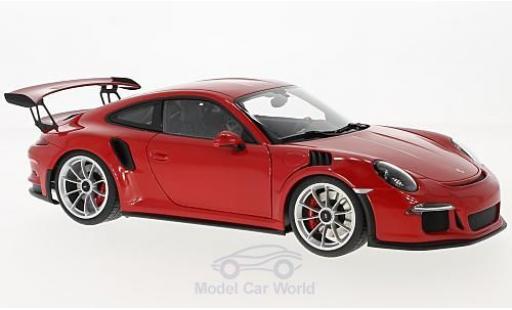 Porsche 991 GT3 RS 1/18 AUTOart 911  red 2016 diecast model cars