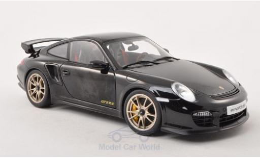Porsche 997 GT2 RS 1/18 AUTOart 911  black/carbon 2010 diecast model cars