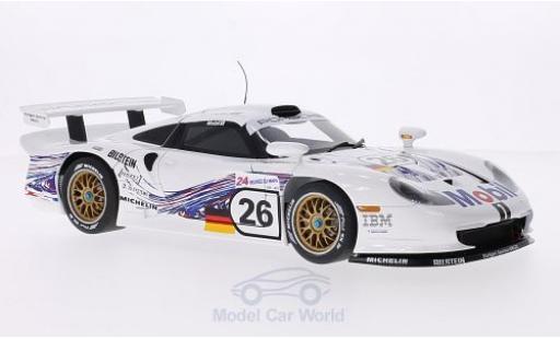 Porsche 996 GT1 1/18 AUTOart 911 No.26 24h Le Mans 1997 E.Collard/R.Kelleners/Y.Dalmas diecast model cars