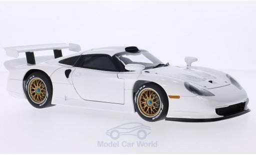 Porsche 996 SC 1/18 AUTOart 911 GTI blanche 1997 Plain Body Version miniature