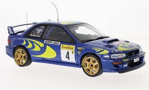 Subaru Impreza 1/18 AUTOart WRC No.4 Rallye Monte Carlo 1997 P.Liatti/F.Pons modellautos