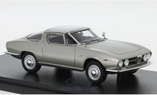 Alfa Romeo Giulia 1/43 AutoCult SS Predotipo grey 1965 diecast model cars