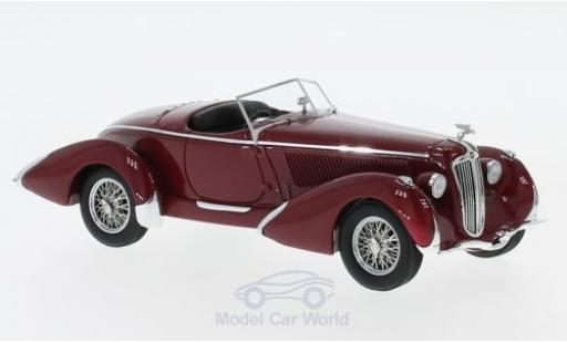 Amilcar G36 1/43 AutoCult Pegase Grand Prix Roadster rouge RHD 1935 miniature