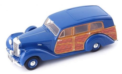 Bentley Mark 6 1/43 AutoCult Mark VI Estate Car Rippon bleue/Holzoptik RHD 1949 miniature