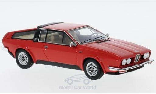 Bmw 528 1/43 AutoCult GT Frua red 1976 diecast model cars