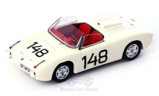 Bmw 700 1/43 AutoCult RS white No.148 1960 diecast model cars