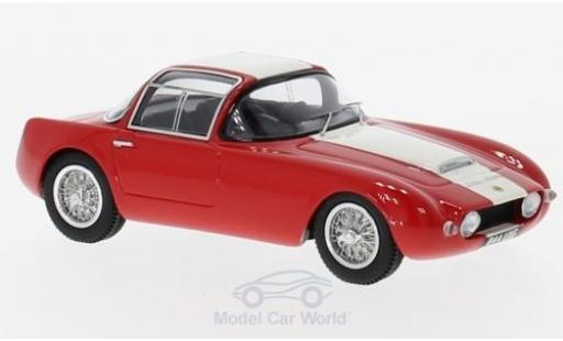 Lotus Eleven 1/43 AutocultAvenue 43 Ghia Aigle rouge/beige RHD 1958 miniature
