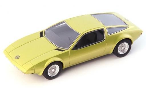 Opel GT 1/43 AutoCult /W (Geneve Concept) metallise jaune 1975 miniature