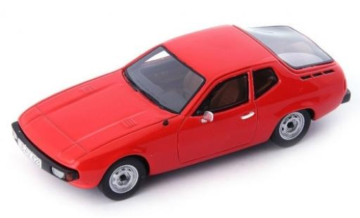 Porsche 924 1/43 AutoCult Predotyp red 1974 diecast model cars