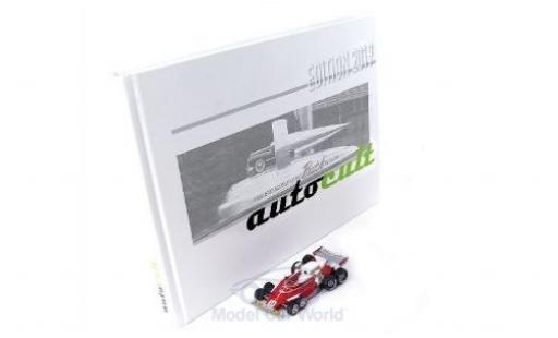Ferrari 312 1/43 AutoCult T8 No.11 1976 mit Jahrbuch 2019 C.Regazzoni diecast model cars