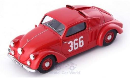Mercedes 150 1/43 AutoCult H Sport-Limousine rouge No.366 1934 miniature