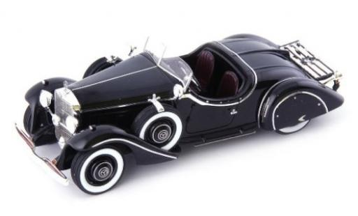 Mercedes 290 1/43 AutoCult (W18) Roadster Amilcar black 1933 diecast model cars