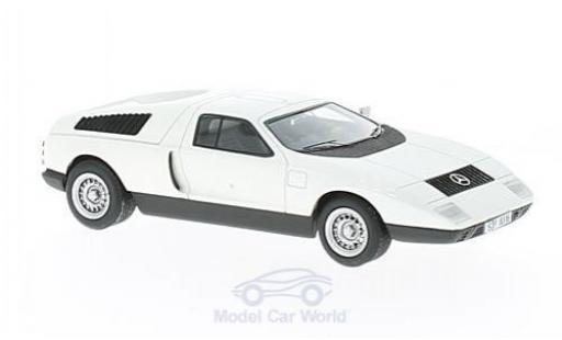 Mercedes C111 1/43 AutoCult white 1969 diecast model cars