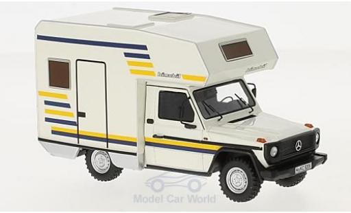 Mercedes Classe G 1/43 AutoCult G Bimobil Husky 235 beige 1984 miniature