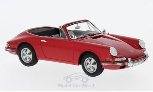 Porsche 901 1/43 AutoCult Cabrio Karmann rouge miniature
