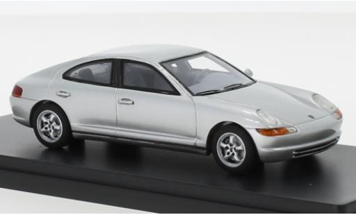 Porsche 989 1/43 AutoCult Predotyp grey 1988 diecast model cars