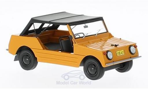 Volkswagen Country 1/43 AutoCult Buggy orange/black RHD 1967 diecast