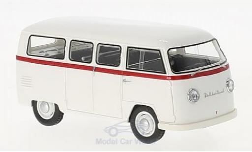 Volkswagen T1 A 1/43 AutoCult Palten Diesel blanche/rouge 1954 miniature