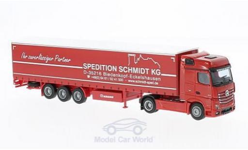 Mercedes Actros 1/87 AWM 2 Big. Aerop. Schmidt G-KSZ miniature