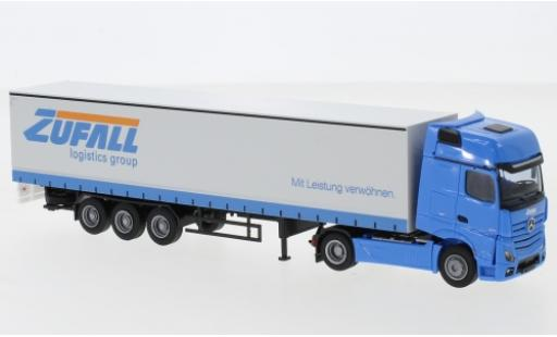 Mercedes Actros 1/87 AWM 5 GigaSpace/Aerop. Zufall camion avec bache diecast model cars