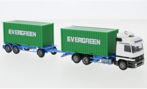 Mercedes Actros 1/87 AWM L Evergreen 2x20 Co.-HZ diecast model cars
