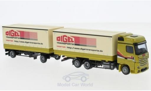 Mercedes Actros 1/87 AWM 2 Big. Digel WPrHZ miniature