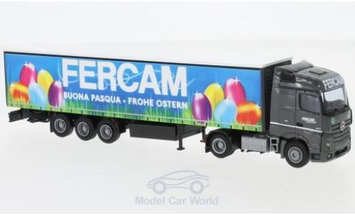 Mercedes Actros 1/87 AWM 2 Stream./Aerop. FERCAM G-KSZ miniatura