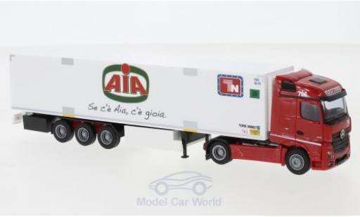 Mercedes Actros 1/87 AWM 2 Stream. / Aerop. Torello/AIA Kühl-KSZ miniatura