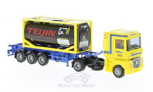 Renault Magnum 1/87 AWM Dijkman/Teijin 20Tank-Co.-SZ miniature