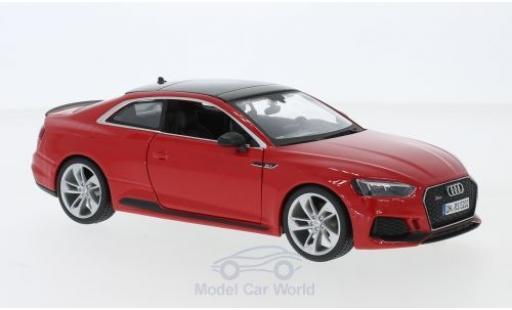Audi RS5 1/24 Bburago RS 5 rouge 2019 miniature